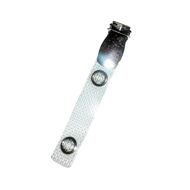 Metalen badge clips voor plastic pasjes