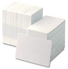witte blanco plastic pasjes (500 stuks)