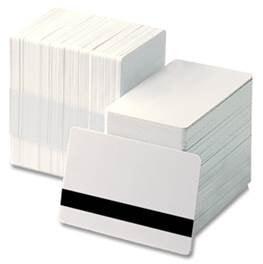 Blanco PVC Hico Magneetstrip kaarten