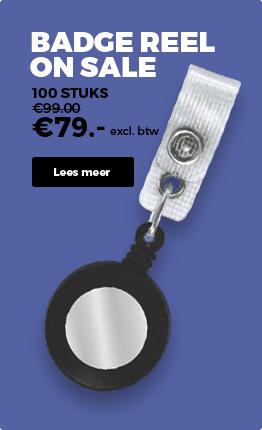 CardSupply Nederland Badge reel
