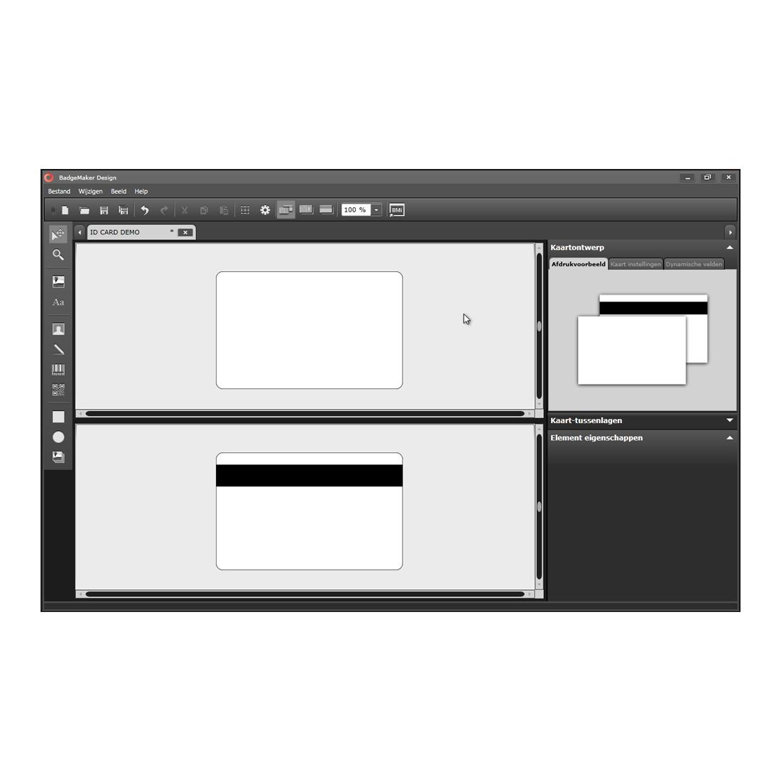 Badgemaker base id software cardsupply nederland for Store layout maker