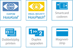 SC6500 Enkelzijdig ID Kaartprinter met magneetstripcodering optionele functionaliteiten