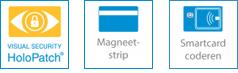 SC2500 Enkelzijdig ID Kaartprinter met Magneetstripcodering Optionele functionaliteiten