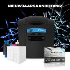 SC2500 ID Kaartprinter Introductie Bundel