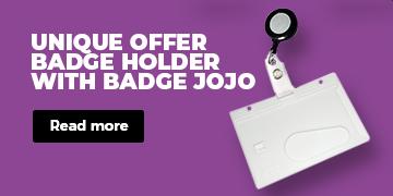 CardSupply Badge Holder with Badge Jojo Card Supply